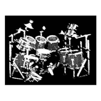 Drummers Post Card