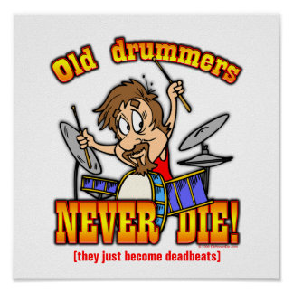 Drummers Poster