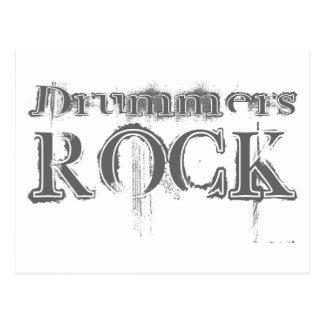Drummers Rock Postcard