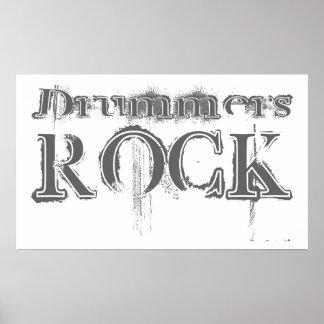Drummers Rock Print