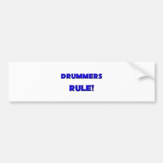 Drummers Rule! Bumper Sticker
