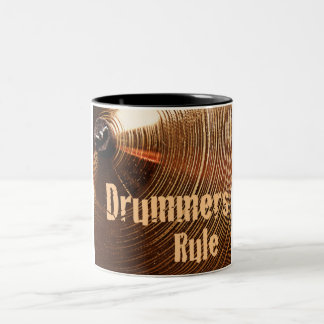 Drummers Rule Coffee Mug or Stein