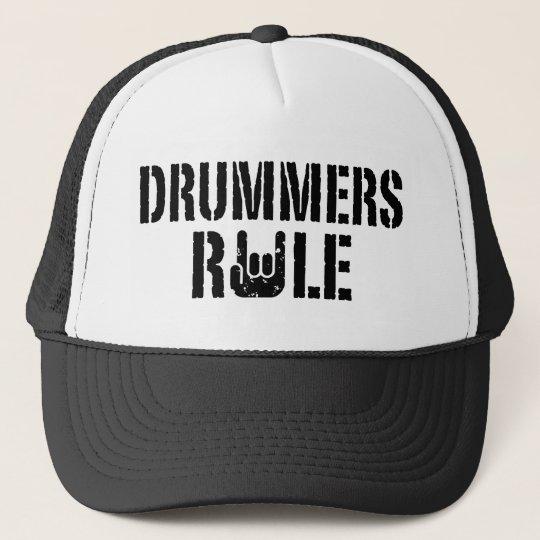 Drummers Rule Trucker Hat