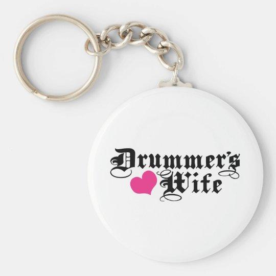Drummer's Wife Keychain