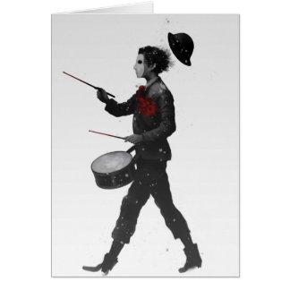 Drumming Boy Card