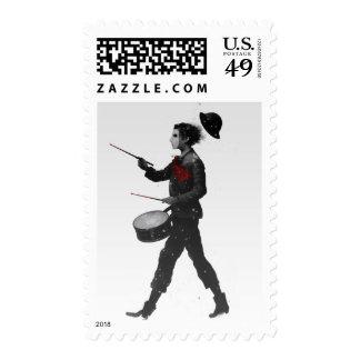 Drumming Boy Stamps