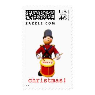 Drumming Nutcracker stamp