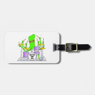 Drumming Octopus Luggage Tag