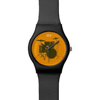 drumming time wrist watch