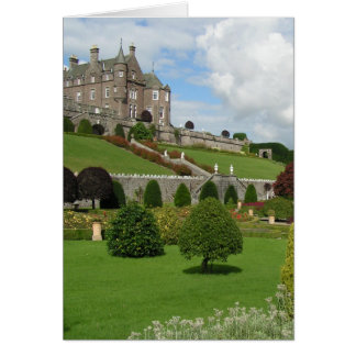 Drummond castle and gardens card
