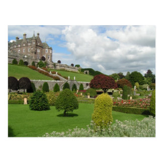 Drummond castle and gardens postcards