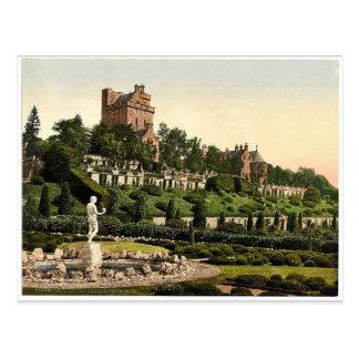 Drummond Castle from S.W. (i.e., Southwest), Scotl Postcards