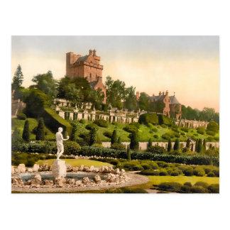 Drummond Castle Scotland 2015 Calendar Postcard