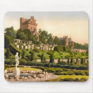 Drummond Castle Scotland Mouse Pad