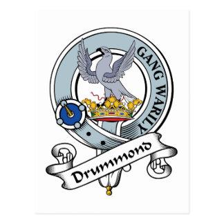 Drummond Clan Badge Postcards