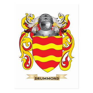 Drummond Coat of Arms Post Card
