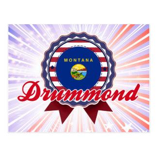 Drummond, MT Post Card