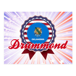 Drummond, OK Postcard