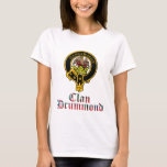 Drummond Scottish Crest Tartan Clan Name Clothes T-Shirt