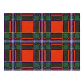 Drummond Scottish Tartan Post Card