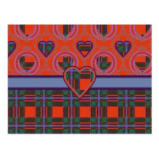 Drummond Scottish Tartan Postcard
