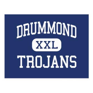 Drummond - Trojans - High - Drummond Montana Post Cards