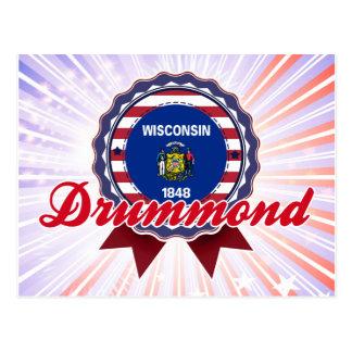 Drummond, WI Postcard