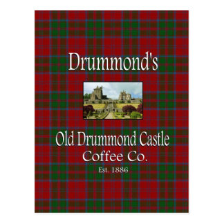 Drummond's Old Drummond Castle Coffee Co. Post Card