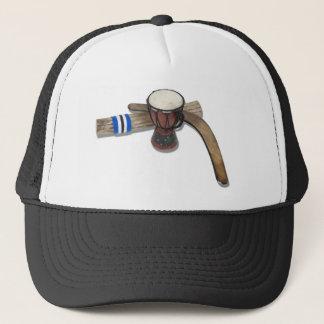 DrumRainStickBoomerang072310 Trucker Hat