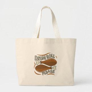 Drumroll Please Large Tote Bag