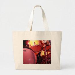 Drums 1 large tote bag
