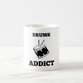 Drums Addict 11 Oz Magic Heat Color-Changing Coffee Mug