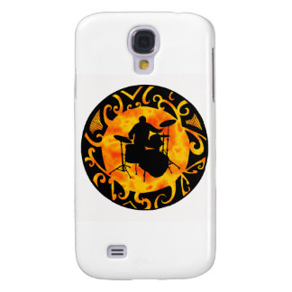 DRUMS BACK BEAT SAMSUNG GALAXY S4 CASES