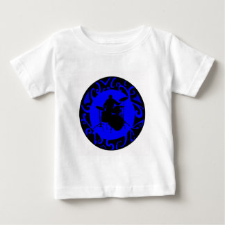 DRUMS BLUE LIGHT BABY T-Shirt