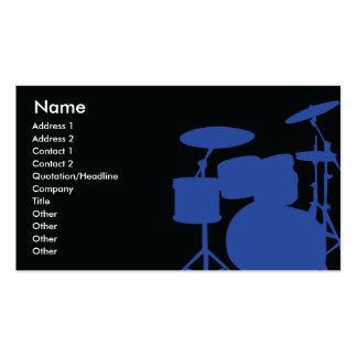 Drums - Business Business Card