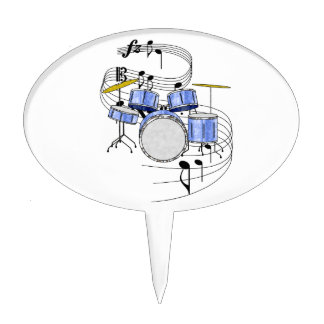 Drums Cake Toppers