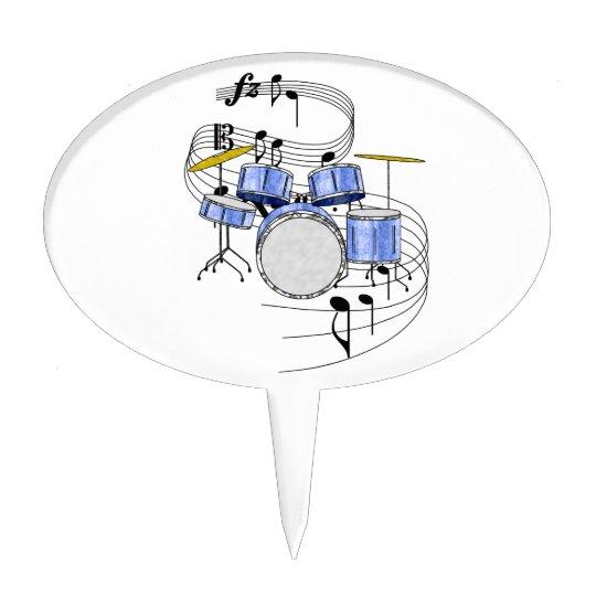 Drums Cake Topper | Zazzle.com