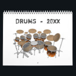 "Drums Calendar<br><div class=""desc"">3D Modeling,  Artwork,  and / or Photography by: Brady Arnold.</div>"