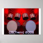 drums, CIS(Theta) 2008 Print