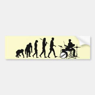 Drums Drummer Drumline Drumsticks Drumming Bumper Sticker