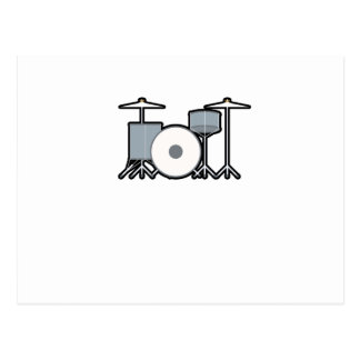 Drums Drummer Drumming Musician Music Player Gift Postcard
