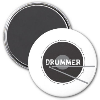 Drums Drummer Percussion Minimal Rock Music Cool Magnet