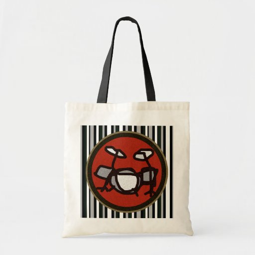drums, drumming gifts canvas bag