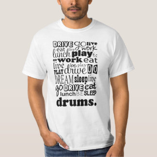 Drums Gift Tshirt