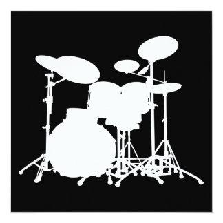 drums invitation