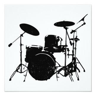 drums invitations