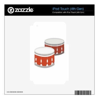 Drums iPod Touch 4G Decals