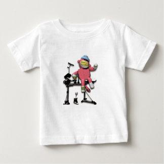 Drums Monkey T Shirt