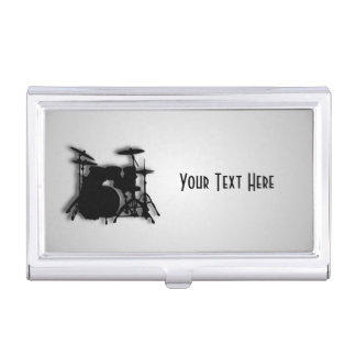 Drums Music Design Business Card Case