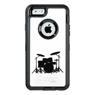 Drums Music Design Shower Curtain OtterBox Defender iPhone Case
